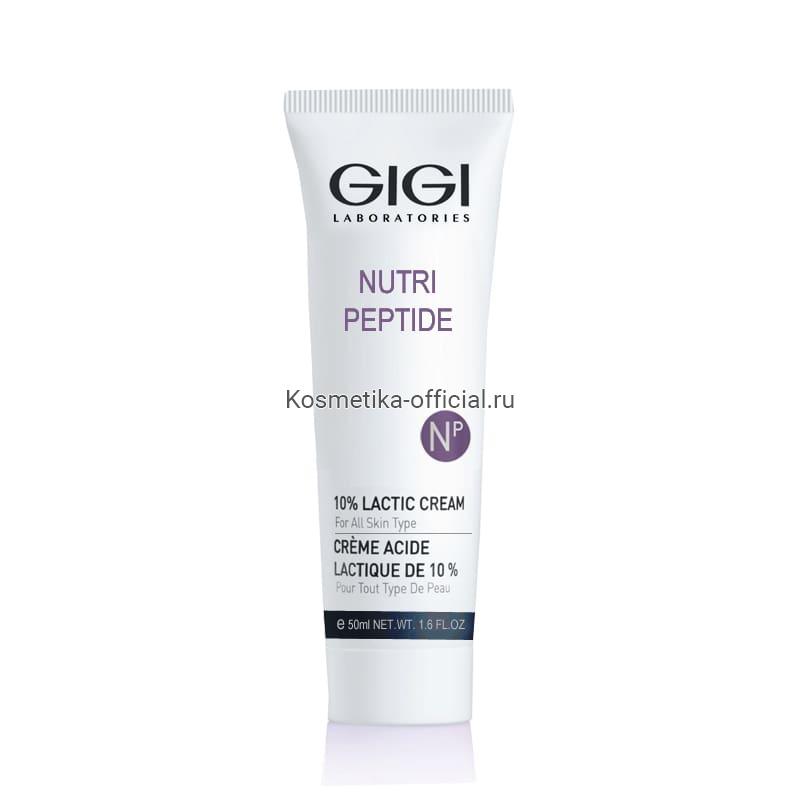 Nutri Peptide 10% Lactic cream крем с мол.кислотой, 50мл (Gigi)