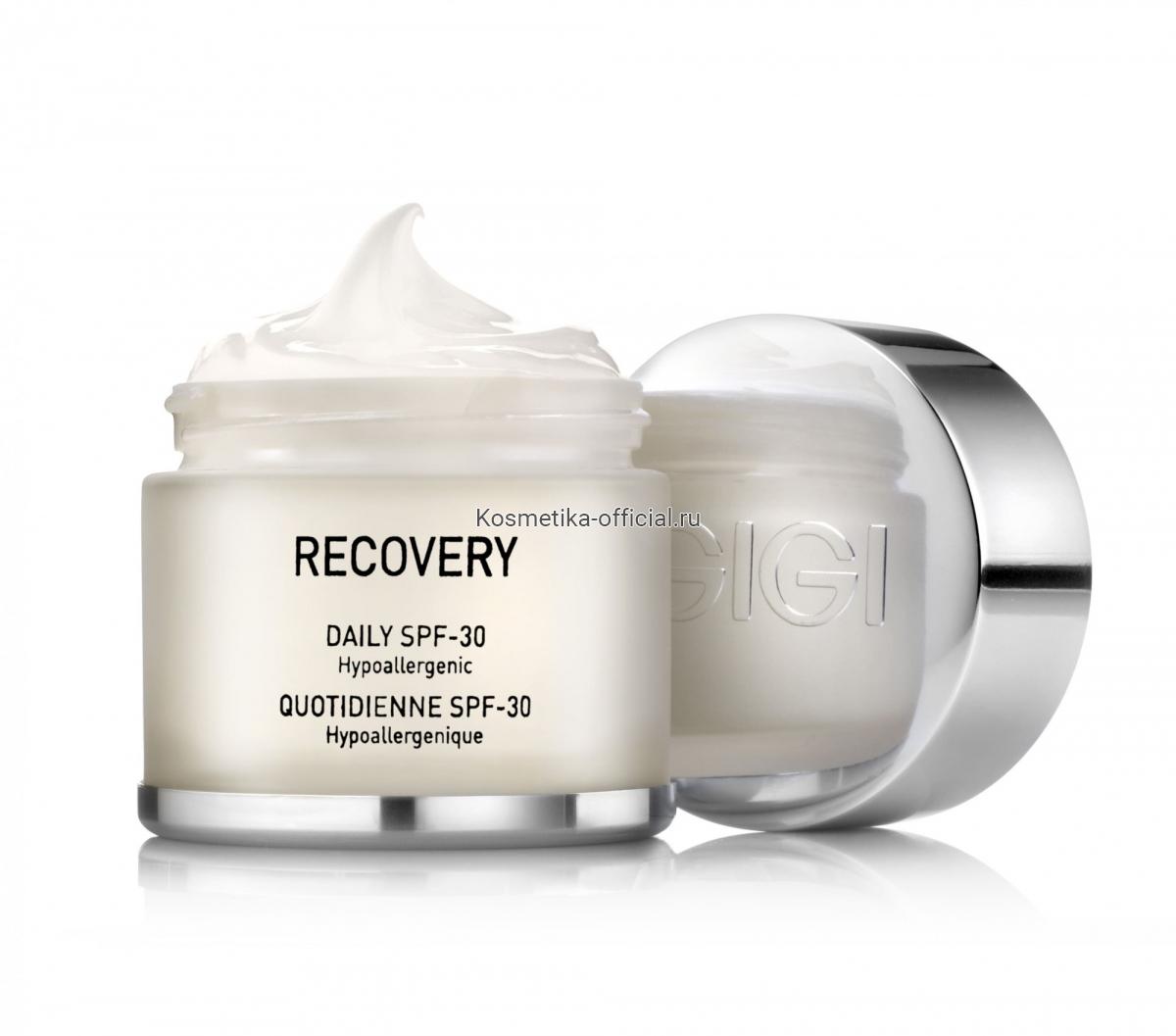 Recovery Крем увлажняющий, восстанавливающий, SPF 30, 50 мл.