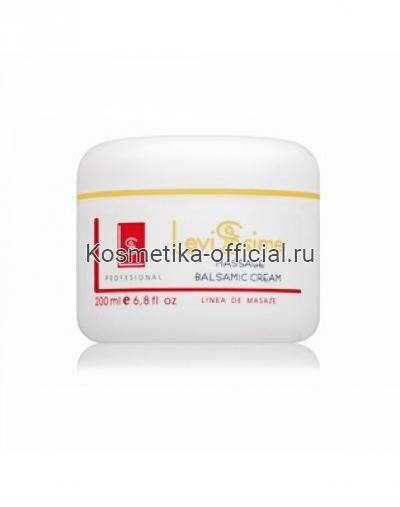 Массажный крем для тела LeviSsime Massage Balsamic Cream, рН 6,0-7,0, 200 мл