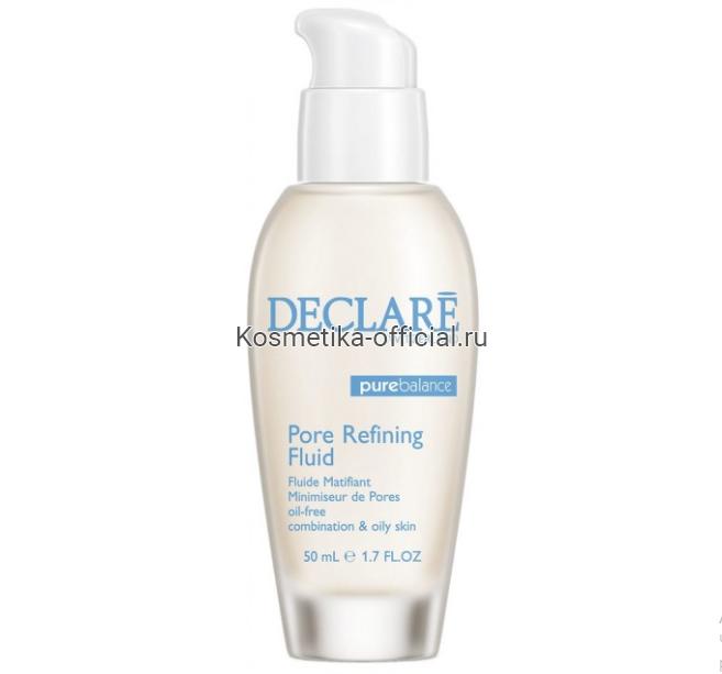Интенсивное средство, нормализующее жирность кожи Sebum Reducing & Pore Refining Fluid oil-free 50 мл