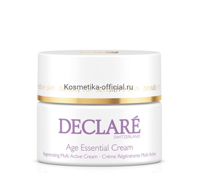 Регенерирующий крем для лица комплексного действия Age Essential Cream 50 мл