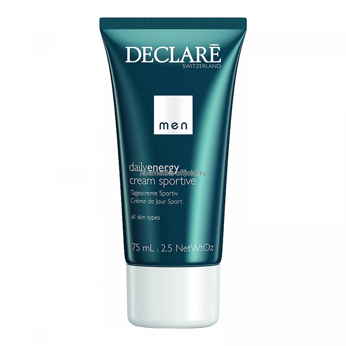 Увлажняющий крем для активных мужчин DailyEnergy Cream Sportive 75 мл