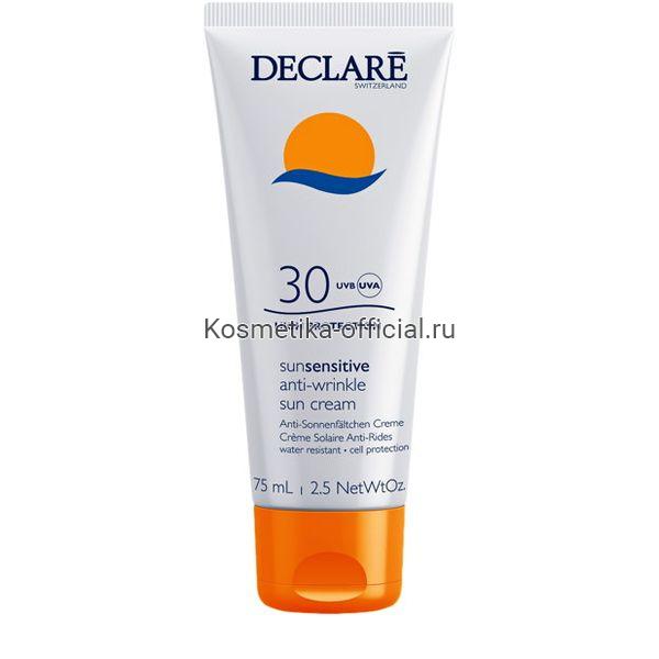 Солнцезащитный крем SPF 30 с омолаживающим действием Anti-Wrinkle Sun Cream SPF 30 75 мл