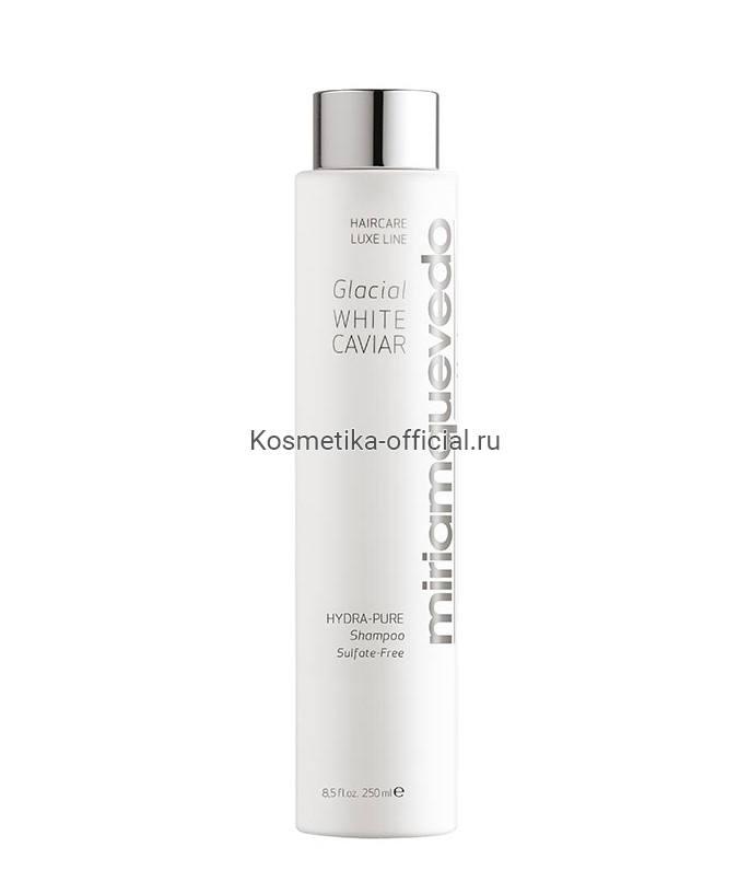 Увлажняющий шампунь с маслом прозрачно-белой икры Glacial White Caviar Hydra-Pure Shampoo 250 мл