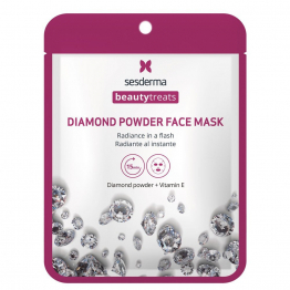 BEAUTY TREATS Diamond powder face mask Маска для сияния кожи